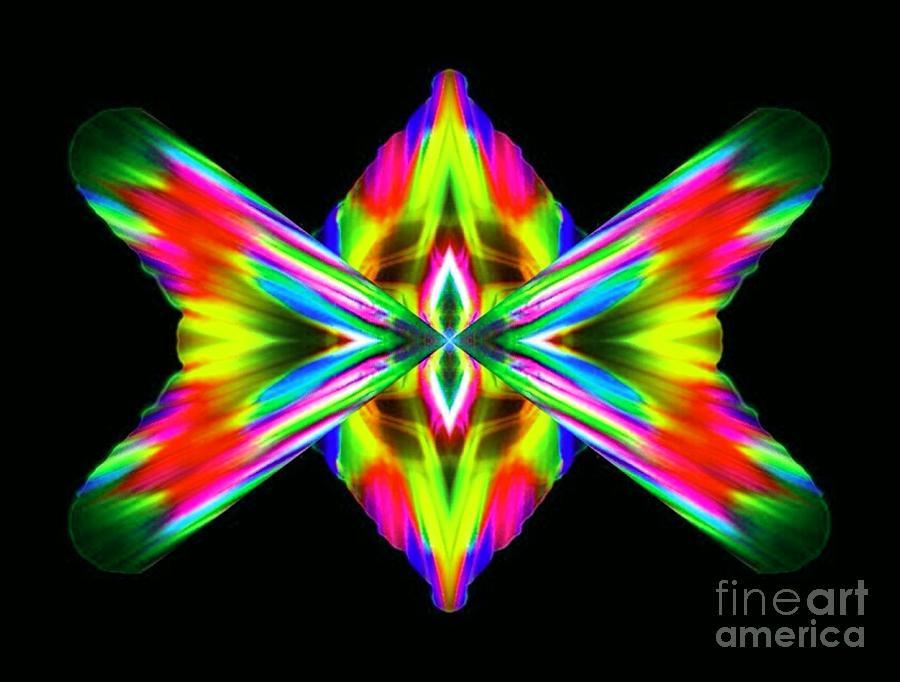 Abstract Digital Art - Spondooli by Lorles Lifestyles