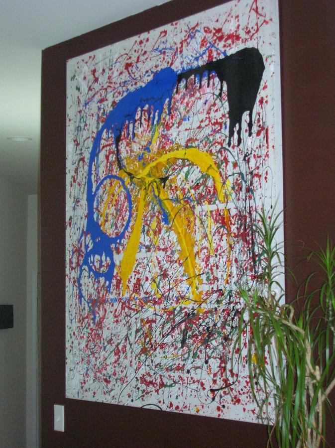 Spontinuity Painting by Shay Ogbara