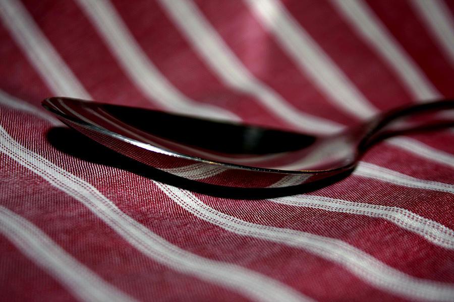 Spoon Photograph - Spoon by REZA Fardinfar