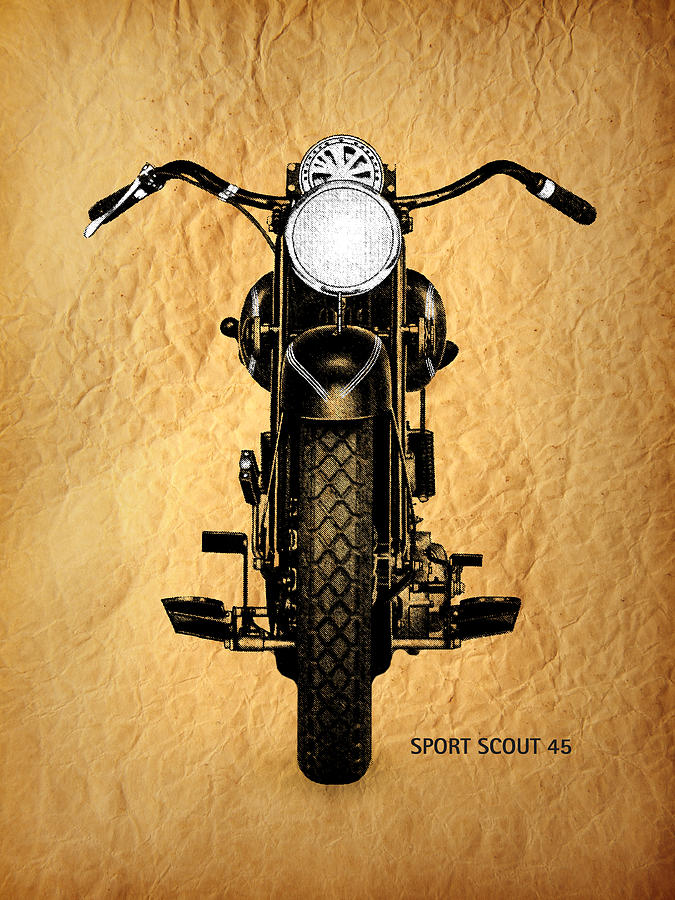 Indian Scout 101 Photograph - Sport Scout 45 by Mark Rogan