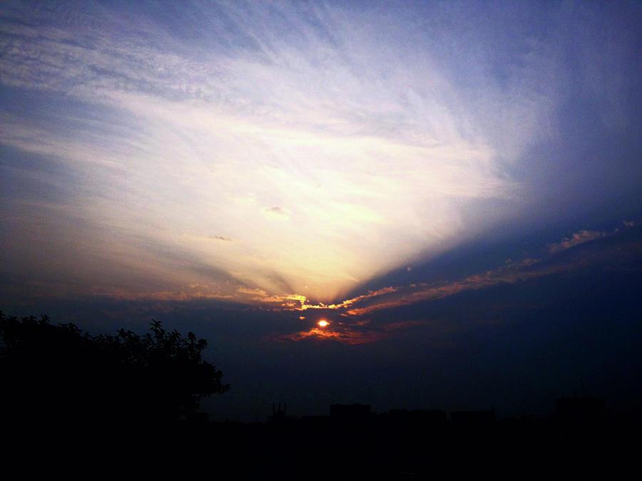 City Photograph - Spotlight Sunrise by Atullya N Srivastava