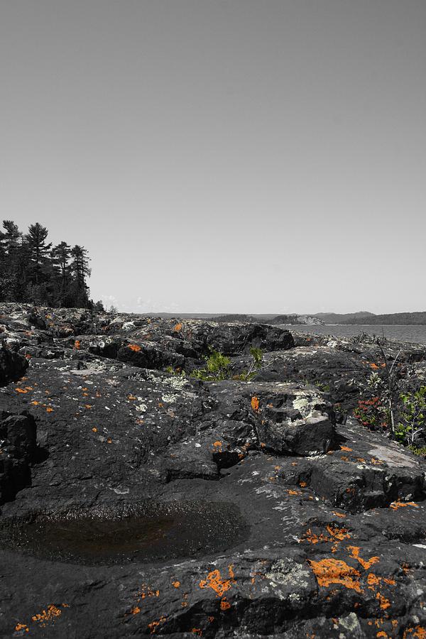 Landscape Photograph - Spotted Rocks by Dylan Punke