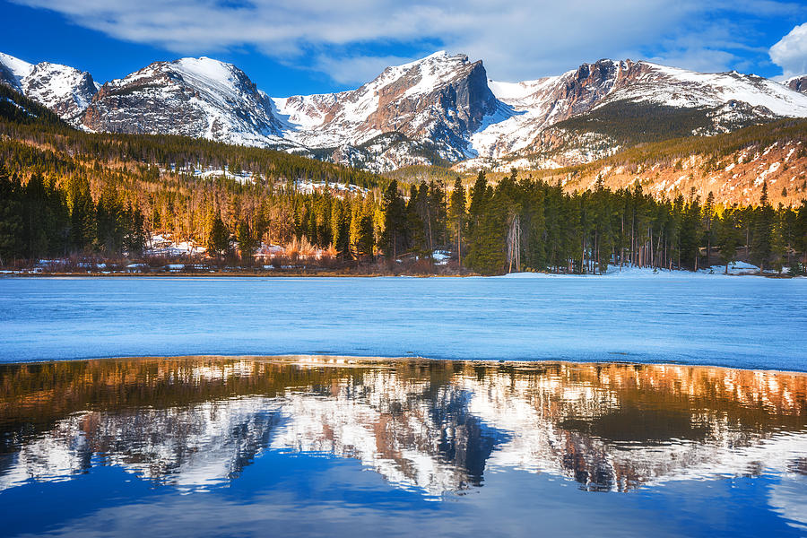 Sprague Lake Photograph