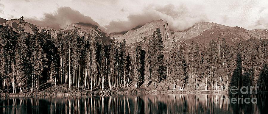 Indian Peaks Photograph - Sprague Lake Morning by Thomas Bomstad