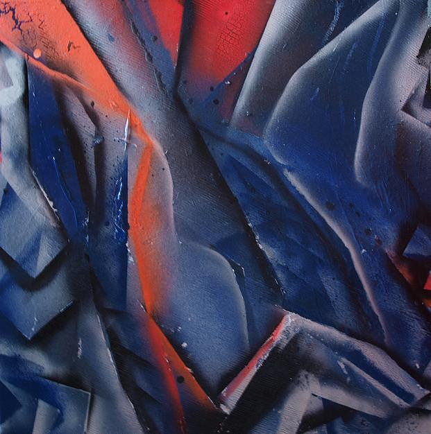 Spray Art3 Painting by Morten Gaarden