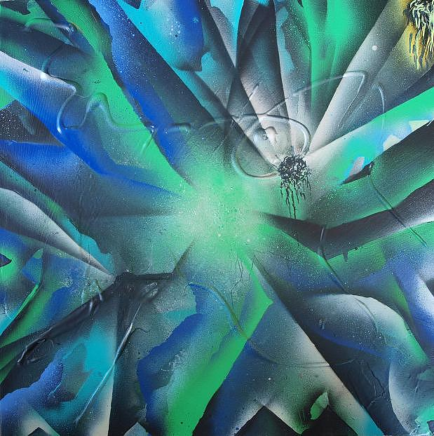 Spray Art8 Painting by Morten Gaarden