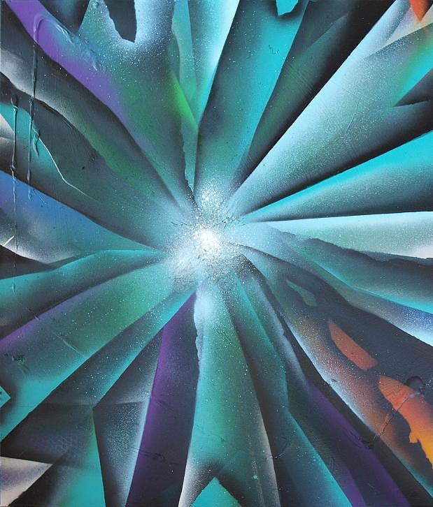 Spray Art9 Painting by Morten Gaarden