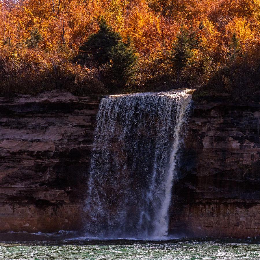 Waterfall Photograph - Spray Falls by Lonnie Paulson