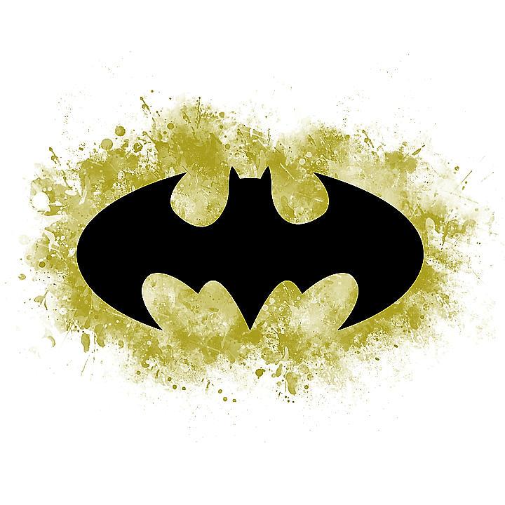 Batman Painting - Spray Paint Batman Logo by Fsg