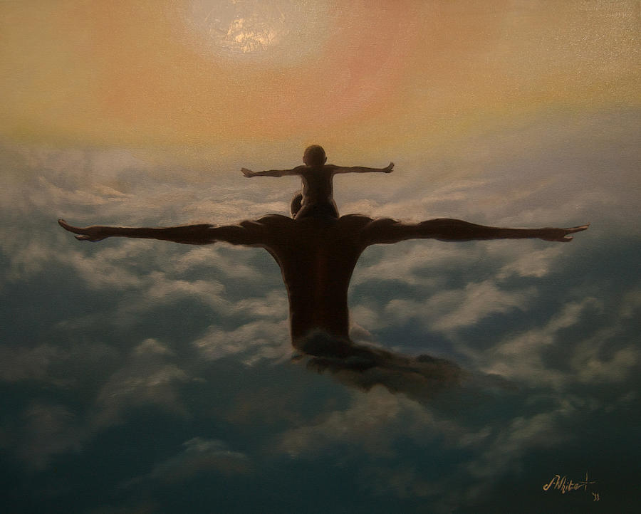 African American Painting - Spread Your Wings by Jerome White