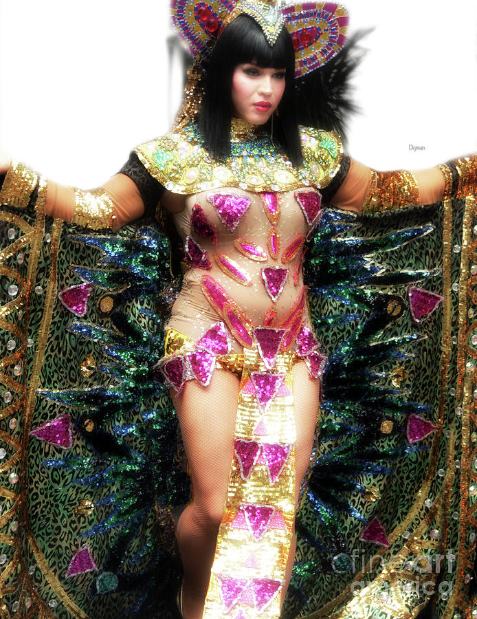 Drag Queen Photograph - Spreading His Wings  by Steven Digman