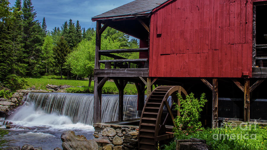 Spring at the Old Saw Mill by Scenic Vermont Photography