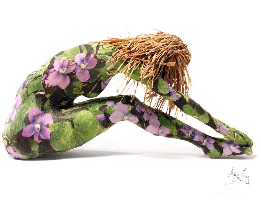 Female Mixed Media - Spring Awakens Sculpture by Adam Long