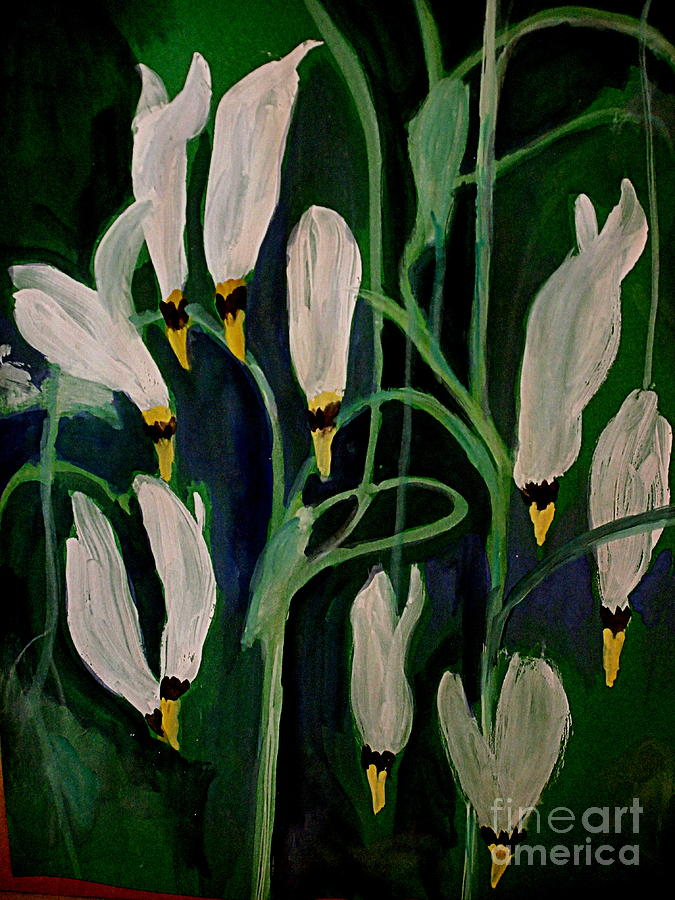 Spring Ballet Painting by Nancy Kane Chapman