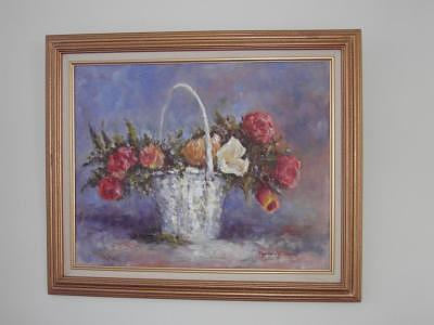Spring  Basket Painting by Maureen Wilkinson