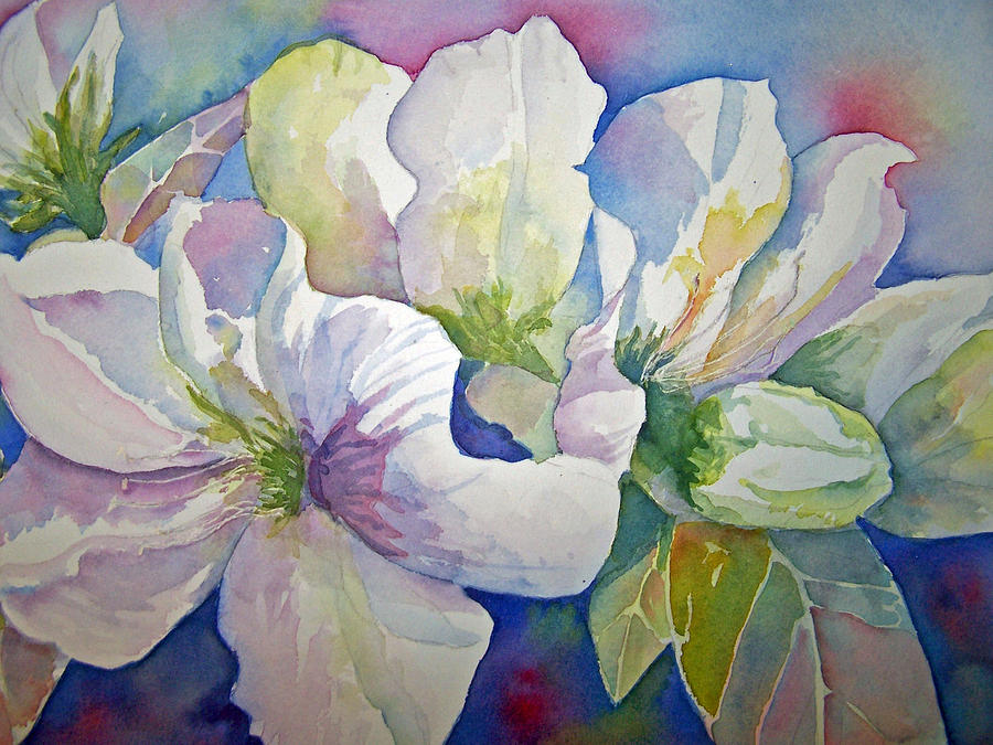 Sandy Collier Painting - Spring Beauty by Sandy Collier