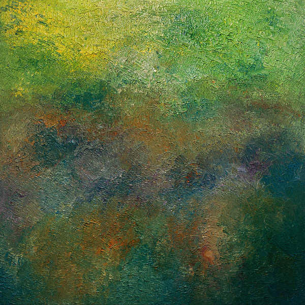 Abstract Painting - Spring Blossom by Bill Hyer