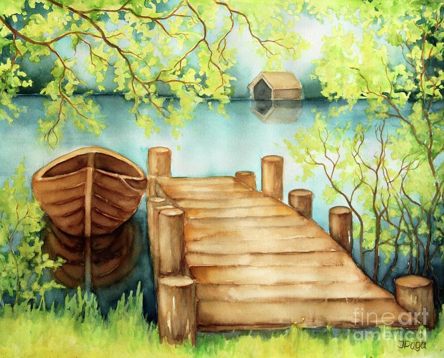 Spring boat by Inese Poga
