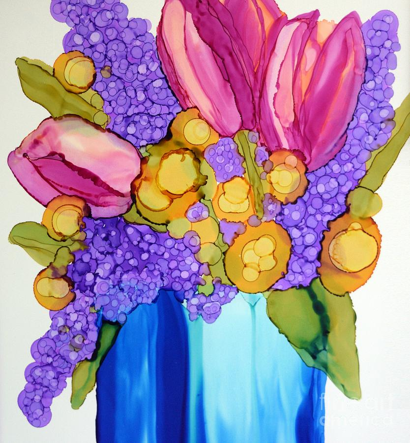 Spring Bouquet by Beth Kluth