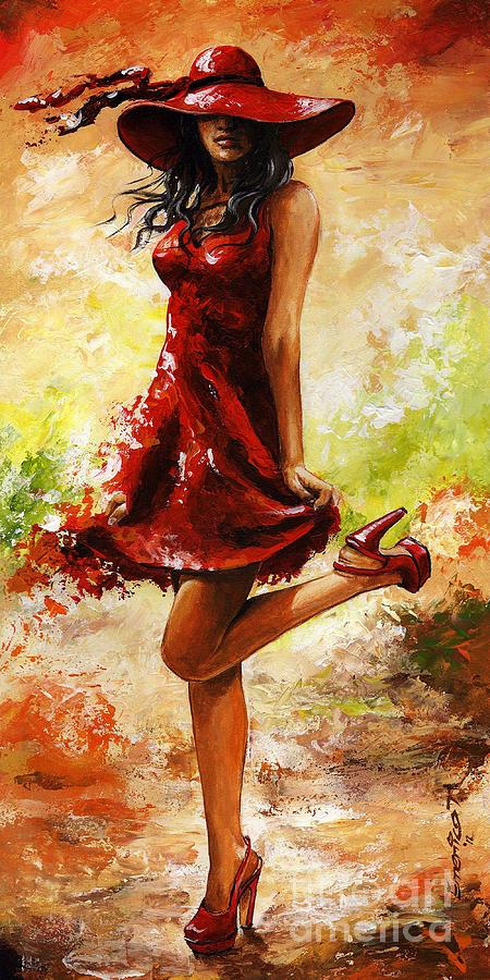 Spring Painting - Spring Breeze by Emerico Imre Toth