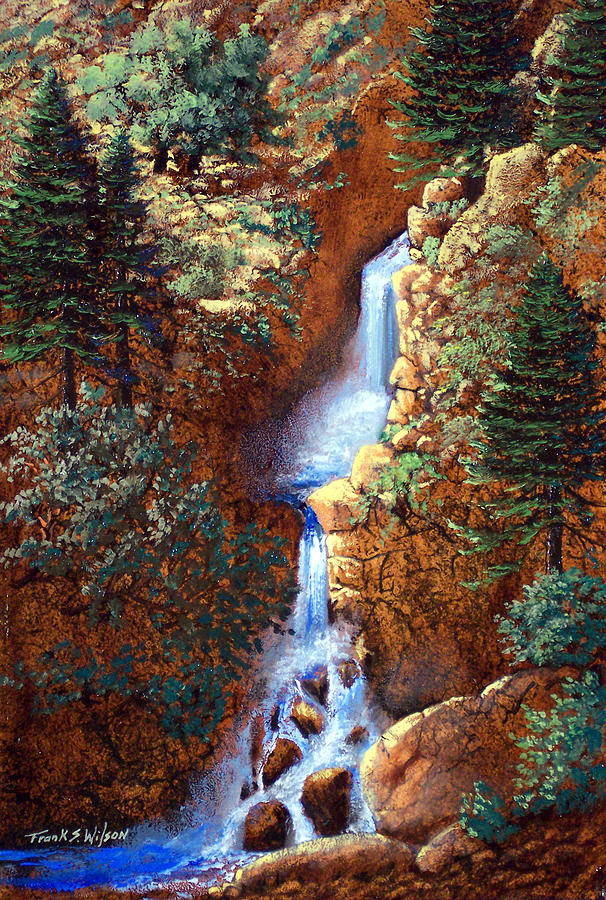 Spring Cascade Painting