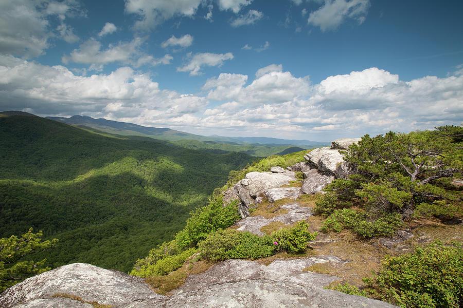 Western North Carolina Photograph - Spring Cliffs by Jim Neal