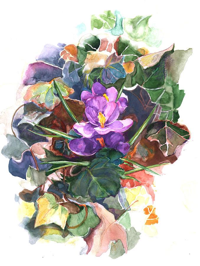 Spring Crocus by Nancy Watson