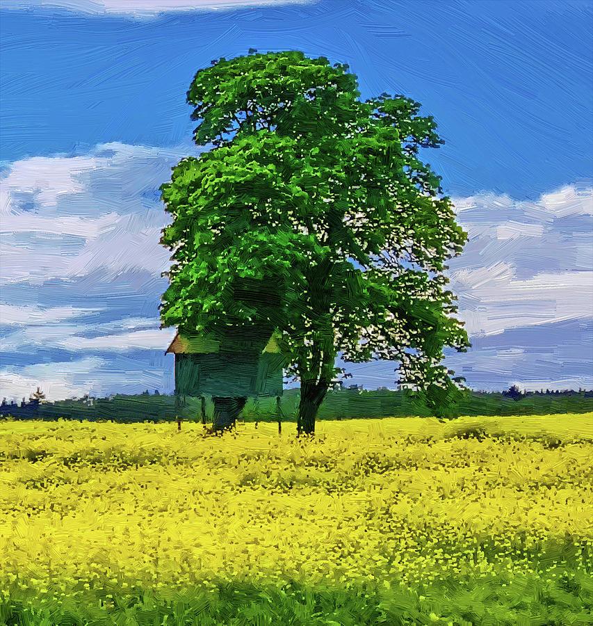 Spring Day Digital Art
