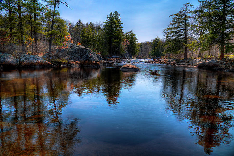 Spring Day On The River Photograph by David Patterson
