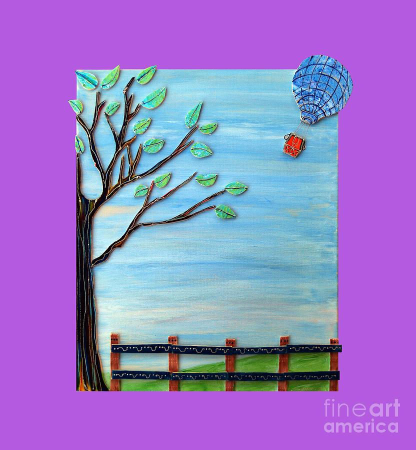 Spring Mixed Media - Spring Drifter by Aqualia