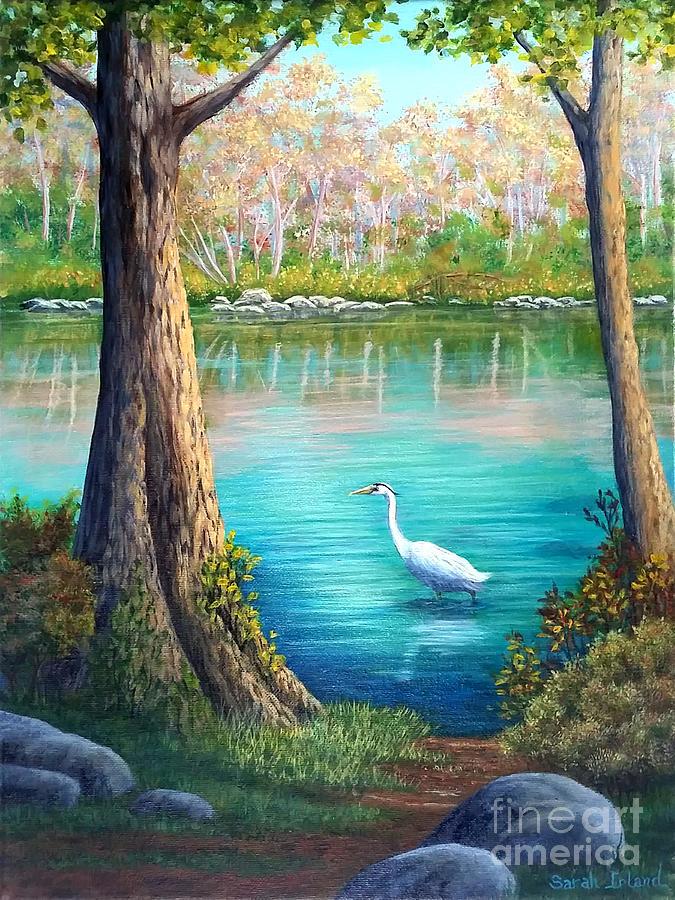 Spring Fishing by Sarah Irland