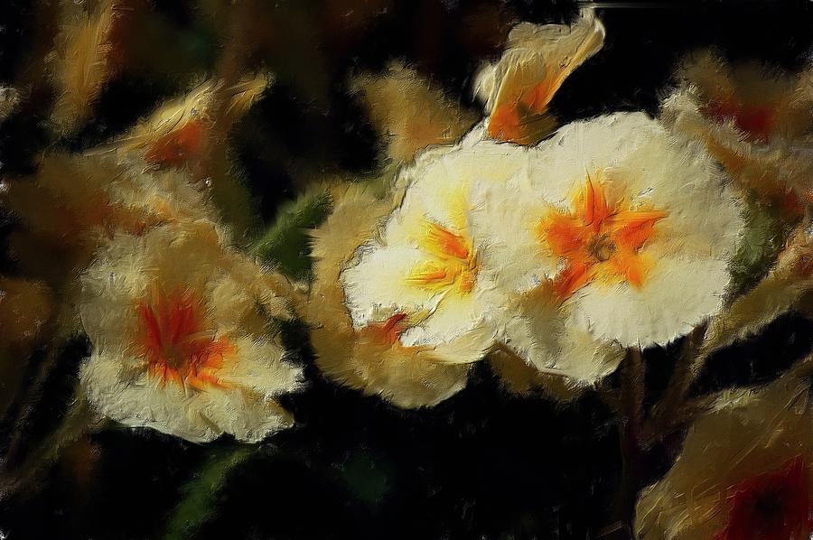 Digital Photo Digital Art - Spring Floral by David Lane