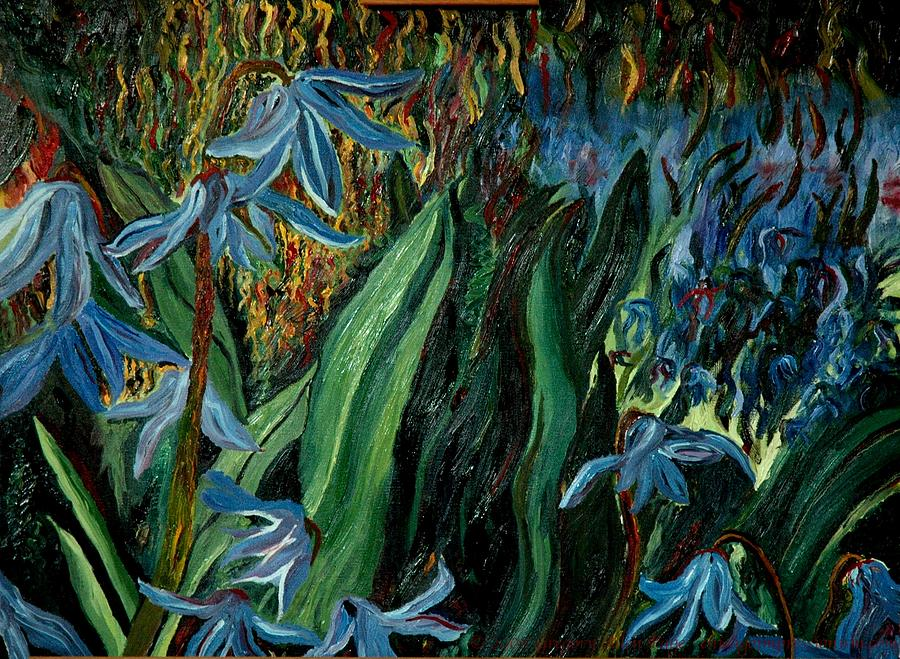 Jungle Painting - Spring Flower by Gregory Allen Page