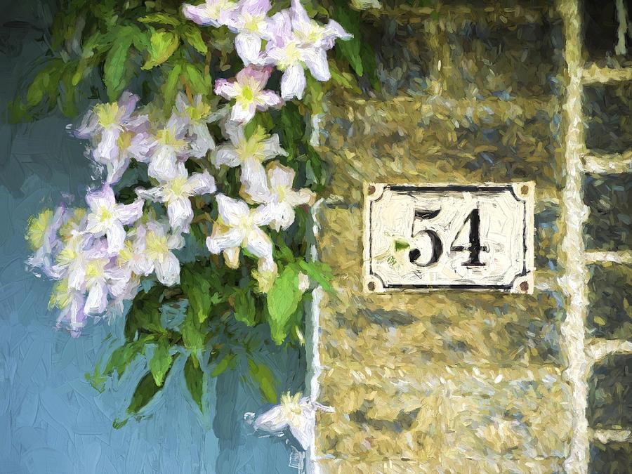 England Photograph - Spring Flowers At No. 54 Cambridge England by Carol Leigh