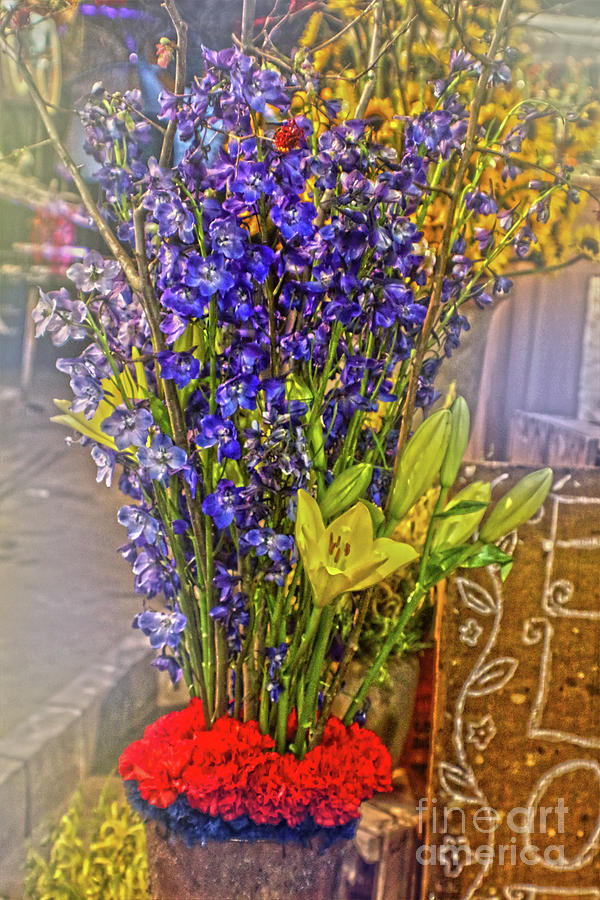 Spring Flowers For Sale Photograph By Sandy Moulder