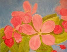Flowers Painting - Spring Flowers No 2 by Thi Nguyen