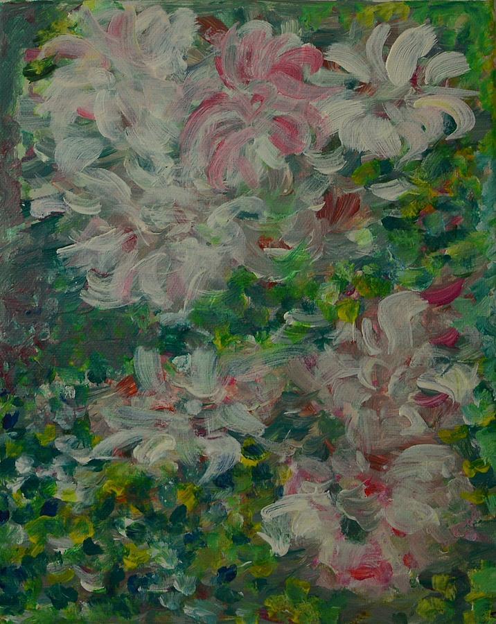 Acrylic On Canvas Painting - Spring by Galya Velkova