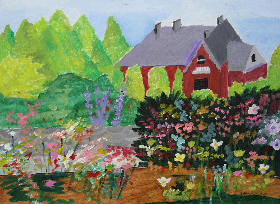 Gardens Painting - Spring Garden by Jeff Caturano