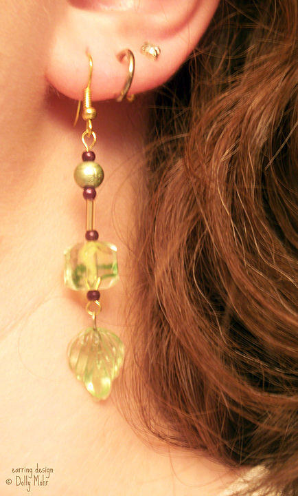 Earrings Jewelry - Spring Green by Dolly Mohr