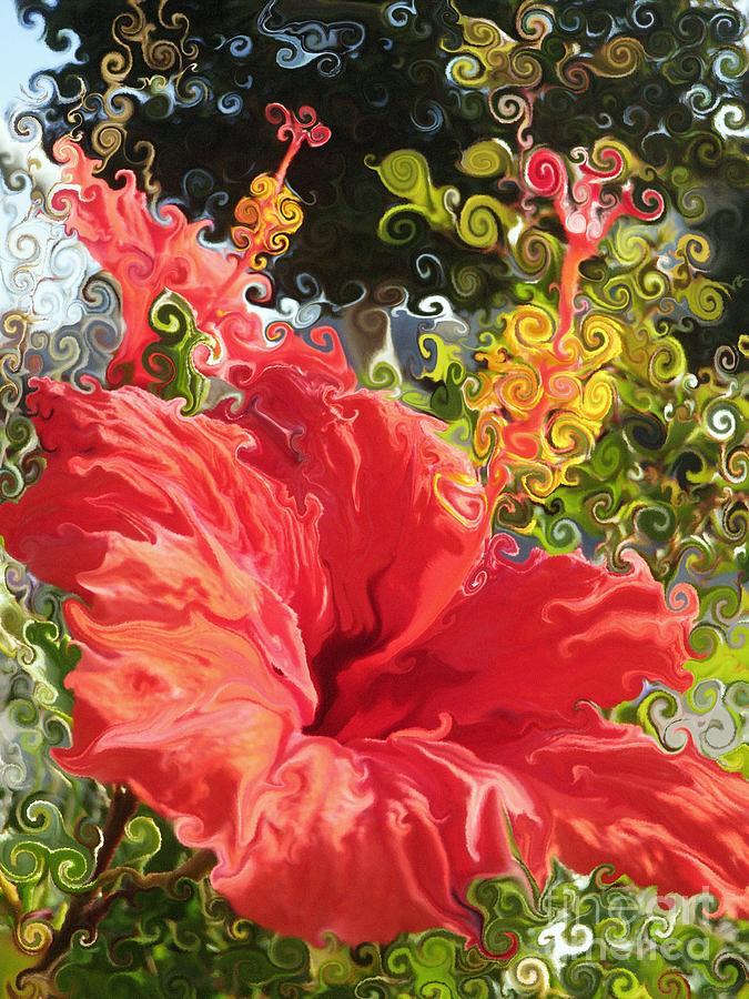 Hibiscus Photograph - Spring Hibiscus by Daniele Smith