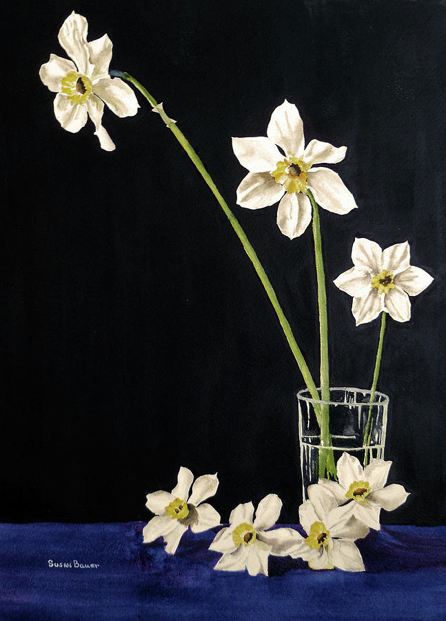 Spring in a Glass by Susan Bauer
