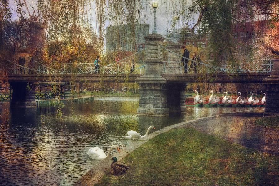 Boston Photograph - Spring In The Boston Public Garden by Joann Vitali
