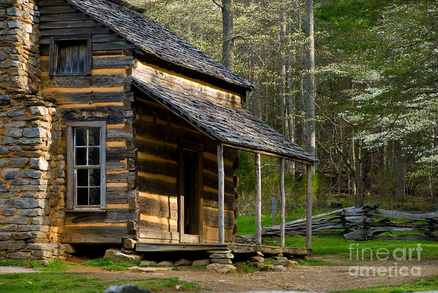 Cades Cove Photograph - Spring In The Smokies by Tony  Bazidlo