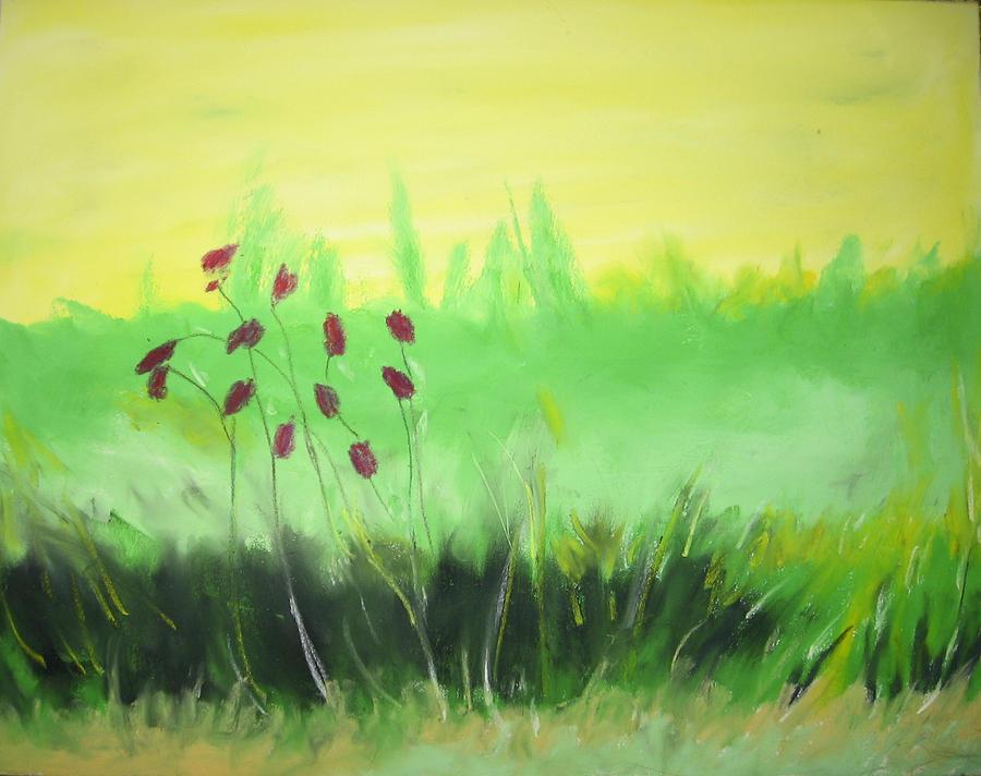 Spring Painting by Ingrid Torjesen