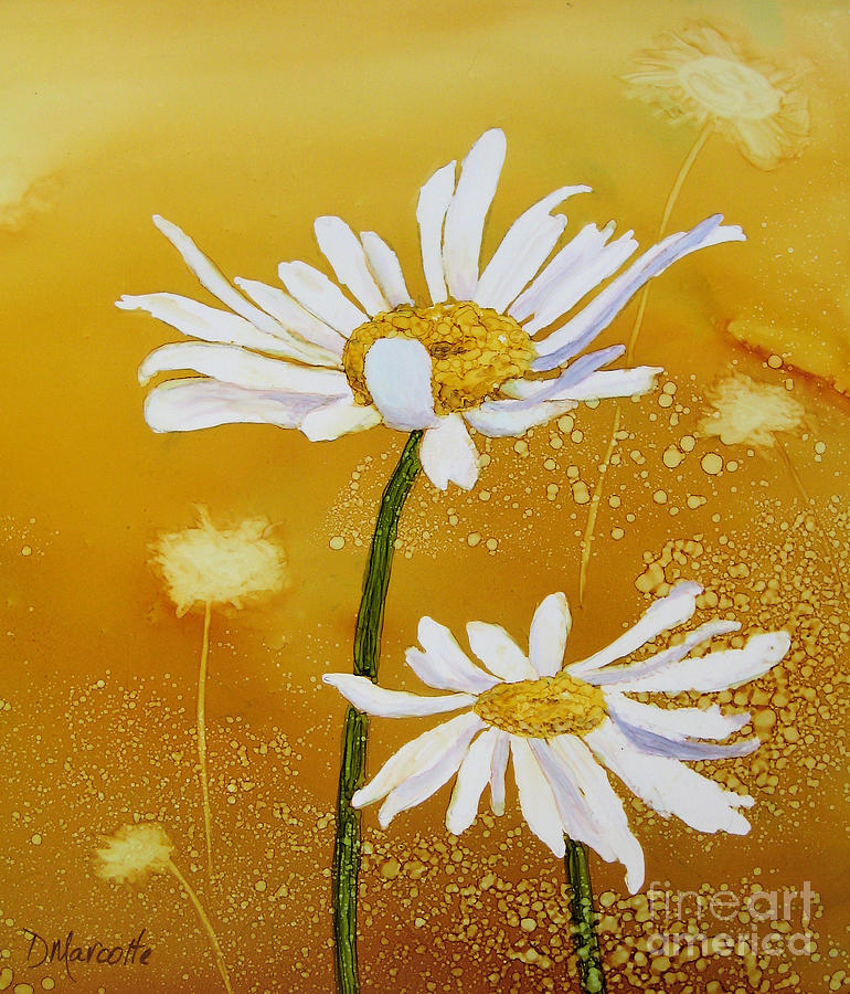 Spring Painting - Spring Is In The Air by Diane Marcotte
