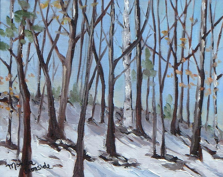 Original Painting - Spring Is Near by Monica Ironside
