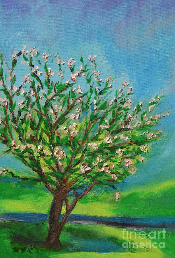 Spring Painting - Spring by Karen Francis