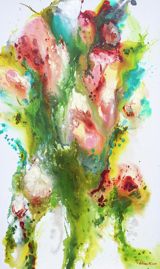 Flowers Painting - Spring by Katrina Nixon