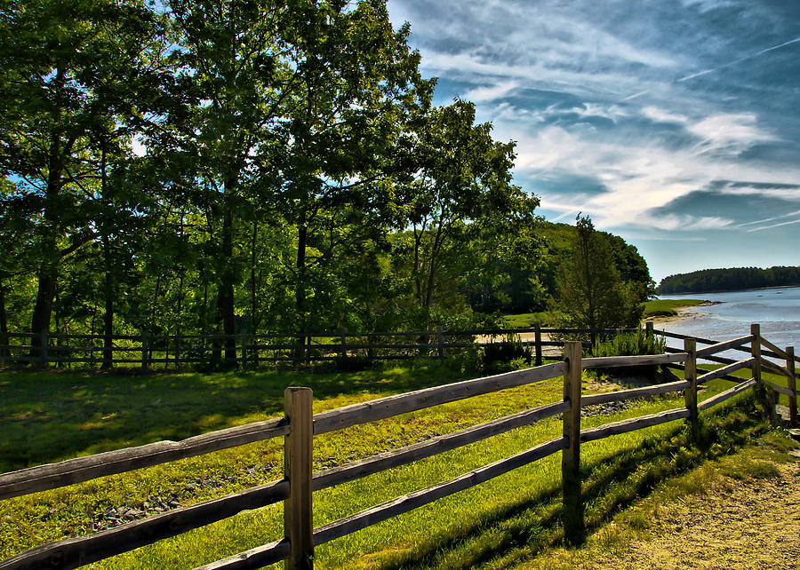 Spring Photograph - Spring Landscape In Nh 2 by Edward Myers