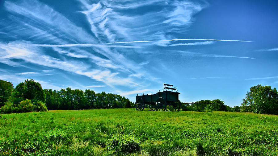 Spring Photograph - Spring Landscape In Nh 4 by Edward Myers